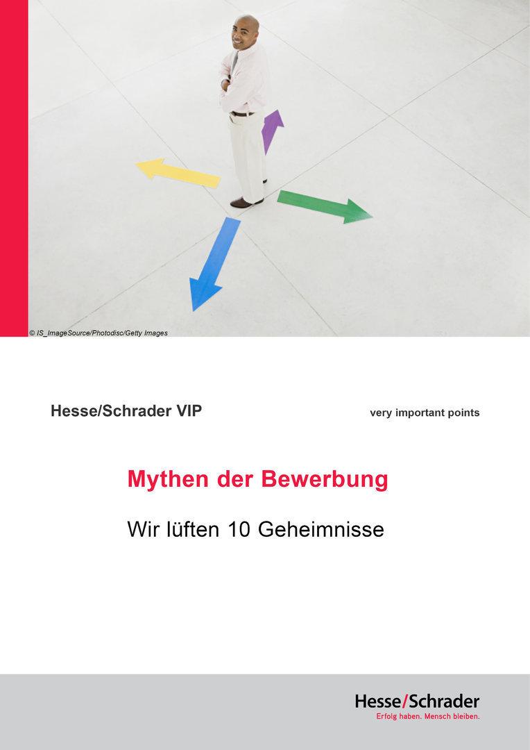 download mythen der bewerbung - Hesse Schrader Bewerbung