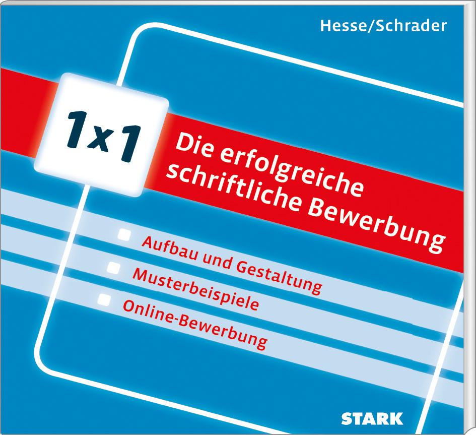 hesseschrader 1x1 die erfolgreiche schriftliche bewerbung 9783866687936 - Hesse Schrader Bewerbung